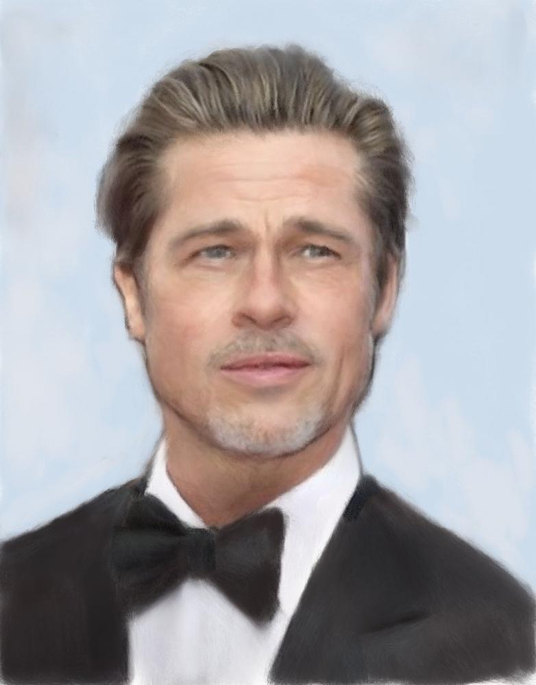 Brad Pitt by baudet